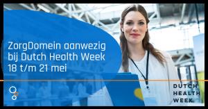 ZorgDomein doet mee aan Dutch Health Week