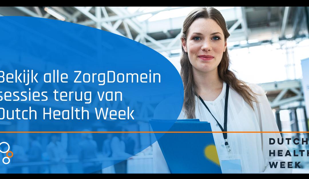 Dutch Health Week 2021 – Sessies terugkijken